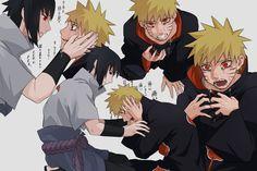 Naruto Vs Sasuke, Anime Naruto, Naruto Chibi, Naruto And Sasuke Wallpaper, Naruto Comic, Naruto Cute, Naruto Funny, Naruto Uzumaki Shippuden, Sasunaru