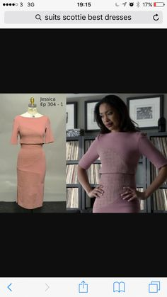 How the Costume Designer for Suits Tells Stories Using Just the Right Attire big (applique?) circle on skirt and top (or dress?) Jessica Pearson on Suits (Gina Torres) Serie Suits, Suits Tv Series, Suits Show, Suits Tv Shows, Suits Usa, Donna Suits, Jessica Pearson, Suits Season, Season 4