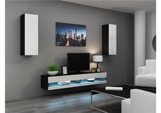 Ensemble Meuble tv design VALOR