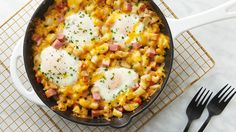This delicious spring hash takes brunch to a whole new level, plus it's a great way to use up leftover ham.