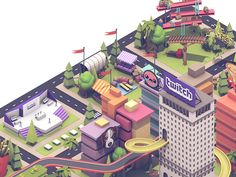 Illustrations for TwitchCon 2016.