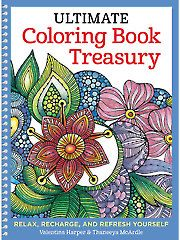 Painting Drawing - Coloring - Ultimate Coloring Book Treasury