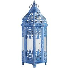 Pier 1 Imports Amina Lantern - Blue