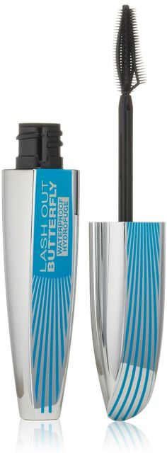 L'Oreal Paris Voluminous Butterfly Waterproof Mascara, Black [870] 0.21 oz (Pack of 2). Product of L'Oreal. Pack of 2.