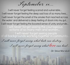 september+11th+quotes | September 11 Never Forget Quotes