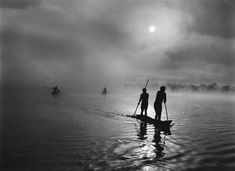 sebastião salgado - Fisherman in Matto Grosso