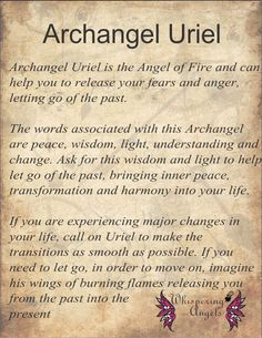 The Archangels oversee and guide Guardian Angels who are with us on earth. The most widely known Archangel Gabriel, Michael, Raphael, and Uriel. Archangel Prayers, Archangel Uriel Prayer, Angel Protector, Seven Archangels, Angel Guide, Angel Quotes, Archangel Michael, Archangel Gabriel, Angel Cards