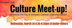 Oshawa's 1st Culture Meet Up Happening in Oshawa this week #AYRFCIOshawa #Oshawa #OshawaEvent #OshawaEvents https://www.facebook.com/events/1569964393323145/