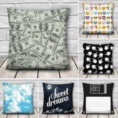 Novelty Print Cushion Covers