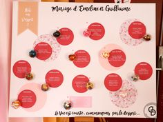 Mariage Origami Gourmand – Décoraly Motif Liberty, Origami, Rose Fuchsia, Decoration, Diy, Movie Posters, Paper Mill, Pale Pink, Bubbles