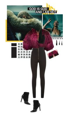 """""""God Is God And I Am Not"""" by kokafor934 ❤ liked on Polyvore featuring Oscar de la Renta, Balmain, BERRICLE, NARS Cosmetics, 3.1 Phillip Lim, Ted Baker, Beyonce, stylemission and SM8"""