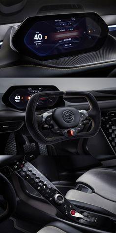 Digital Dashboard, Dashboard Car, Dashboard Design, Car Interior Design, Automotive Design, Ui Design, Lotus, Car App, Spaceship Interior