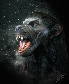 Loup-garou avec loup porn