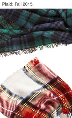 Here's a sneak peek at some of the softest plaid scarves you'll find in Target's fall collection—it's like a tartan takeover! These classic prints are always in style, so be ready to stock up in September, when Target's fall plaid collection hits stores!