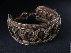 Купить Браслет Маргарита - комбинированный, авторские украшения, браслеты, браслет на руку, авторская ручная работа