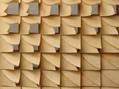Hygroscope – Achim Mengis/ICD Stuttgart 2012: Understanding material properties of wood – folding with humidity