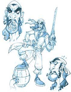 Sandoje line art by *ZurdoM on deviantART repinned by www.BlickeDeeler.de