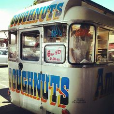 Donuts van in Melbourne