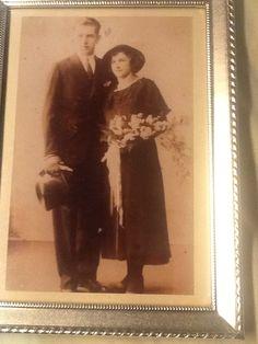 Pa en Moeder van den Dungen.. Foto 1934
