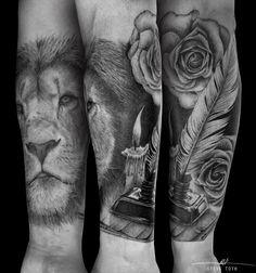 Lion Forearm tattoo - Steve Toth