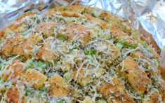 Cheesy Garlic 'Crack' Bread – Community Table