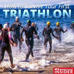 Bowflex Insider | How to Survive Your First Triathlon | Fitness Tips