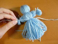 Comment faire d'adorables poupées, avec de la simple laine! - Bricolages - Trucs et Bricolages