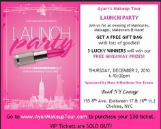 budhagirl launch invitation yay beautiful party  besigheids, party invitations