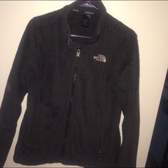 Black North Face Fleece Black North Face Osito Jacket in size medium. *Re-List* North Face Jackets & Coats