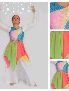 LYDIA Praise Dance Wear, Praise Dance Dresses, Worship Dance, Garment Of Praise, Dance World, Ballet, Dance Outfits, Costume Accessories, Dance Costumes