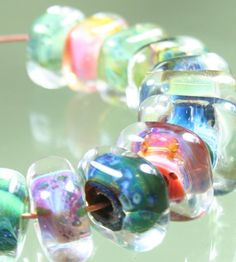 Handmade Boro Lampwork Glass Beads