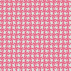 Fabric... Sugar Rush Mint Swirls in Red by Blend Fabrics