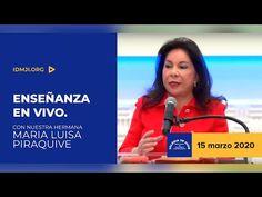 Enseñanza: Hna. María Luisa Piraquive, 15 marzo 2020 - IDMJI - YouTube
