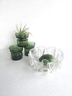 Mid Century Georgshutte Glasdesign Modern by SandHollowVintage