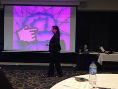 Speaking at a recent event about blogging for business.