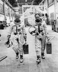 Buzz Aldrin (left) and Theodore C. Freeman (right) the day before Freeman died - Honored - The Astronauts Memorial Foundation