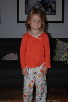 https://flic.kr/p/8PdUVb | O+S PJs | PJ pants in Alexander Henry, and Hopscotch shirt in City Weekend.  Pretty cozy!