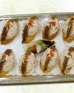 Pintxo de Chatka con anchoa