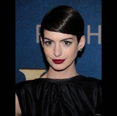 """Anne Hathaway le 10 d�cembre 2012 � New York pour """"les Mis�rables""""."""