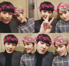 Find images and videos about exo, baekhyun and chanyeol on We Heart It - the app to get lost in what you love. Exo Chanbaek, Exo Ot12, Chanyeol Baekhyun, Park Chanyeol, Exo Exo, Namjin, Yoonmin, Girls Generation, Wattpad