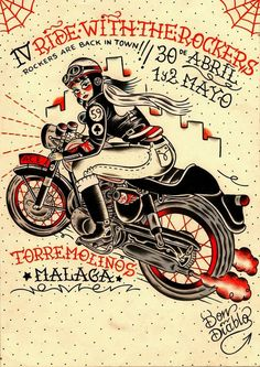 #illustration #caferacer #motorcycles #motos | caferacerpasion.com