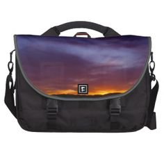 Colorful Sunset Computer Bags from Florals by Fred #zazzle #gift #photogift
