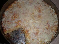 Εύκολη μακαρονόπιτα χωρίς φύλλο Cookbook Recipes, Cooking Recipes, Dairy, Pie, Cheese, Vegan, Desserts, Food, Noodle