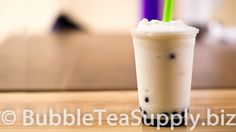 Learn how to make a Pina Colada Bubble Tea drink using Bubble Tea Supply's Coconut and Pineapple Flavor Powders with Boba Tapioca Pearls by Neptune Ice. This is the standard recipe for our flavor powder however you can easily substitute in milk, almond milk, etc for the creamer and water. You can also change out the sweetener to match the flavor preferences of your customers or friends and family. Visit our website for the full recipe.