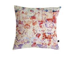 Blog post - The Rorschach Cushion, a dreamy, abstract, pastel watercolour…