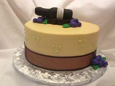 Wine theme Wedding Shower cake