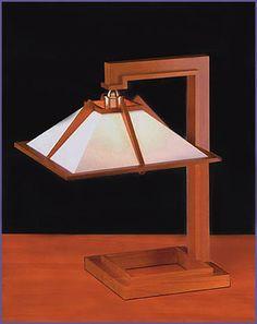 Frank Lloyd Wright, Taliesin 1, Table Lamp