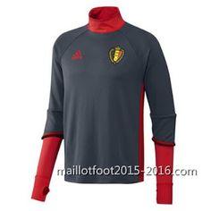 Acheter maillot de foot pas cher chine 2016: Acheter maillot formation Belgique EURO 2016 manch...