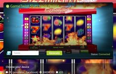 GameTwist Slots hack cheat - unlimited Twists for all games - cheats apps for ANDROID, iOS and Facebook games http://androidgreats.com/gametwist-slots-hack-cheat-unlimited-twists-for-all-games/