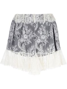 PHILOSOPHY DI LORENZO SERAFINI lace shorts. #philosophydilorenzoserafini #cloth #shorts